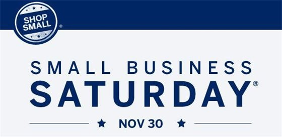 Small Business Saturday is Nov. 30