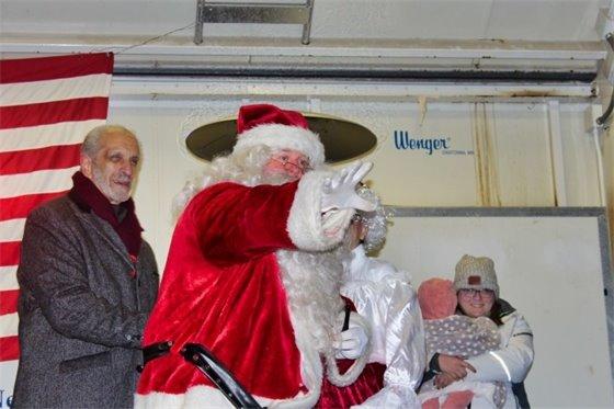 Lou and Santa