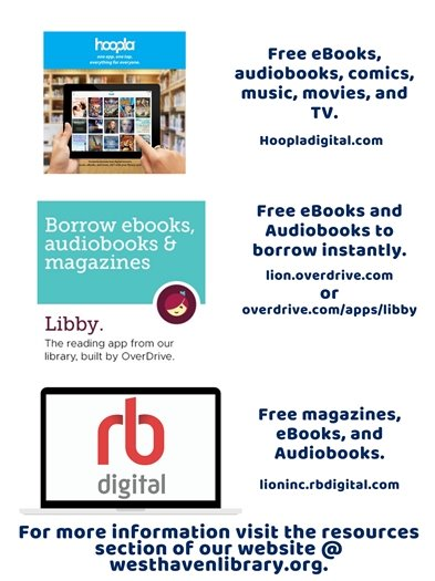 West Haven Library Resources